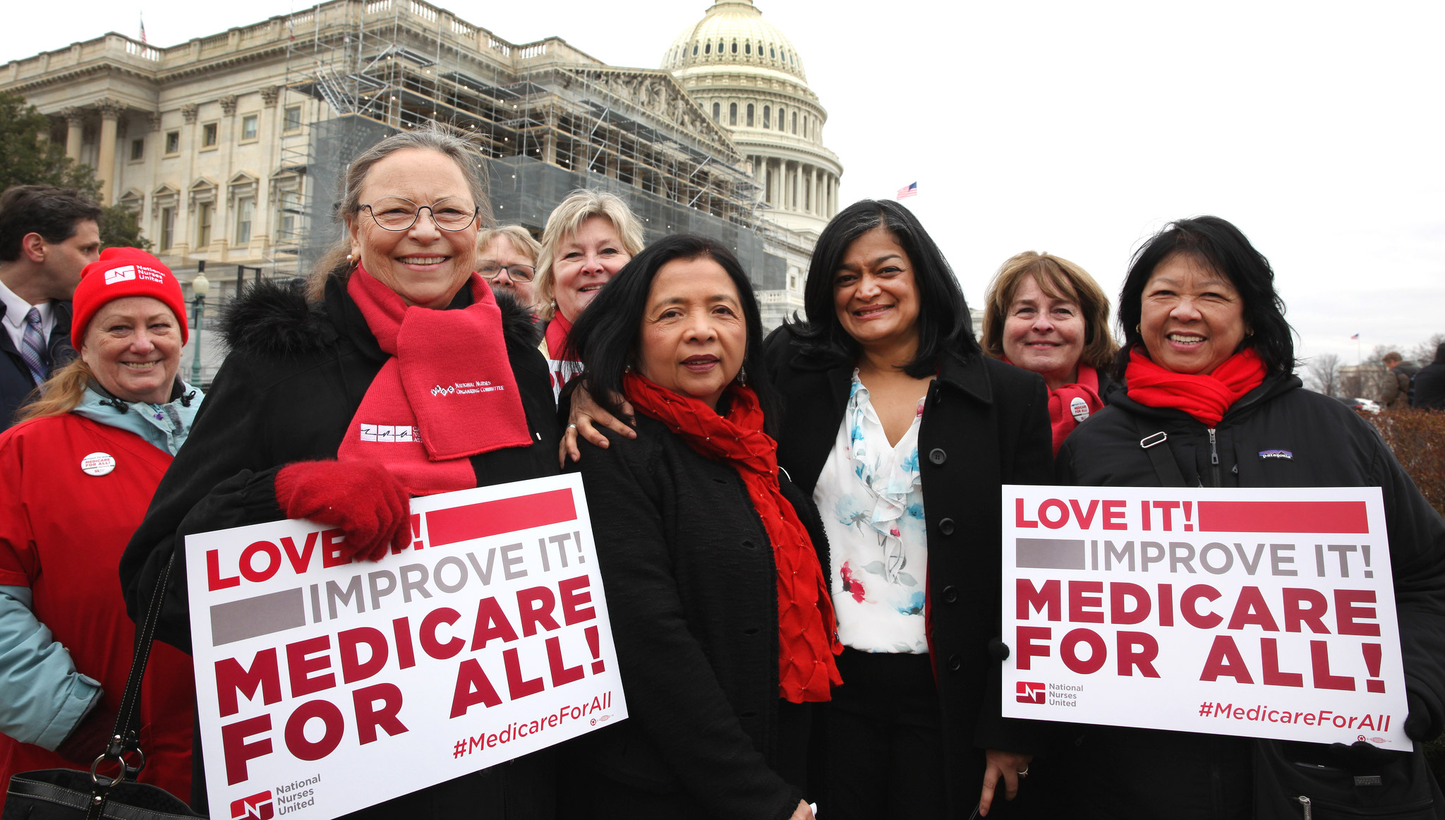 A plan by Rep. Pramila Jayapal