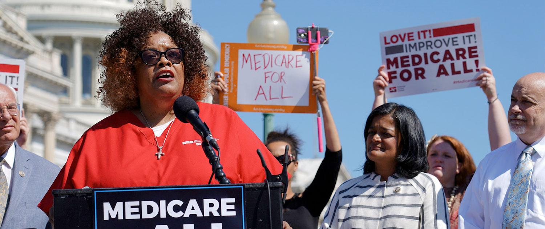 Medicare For All Congressional Caucus