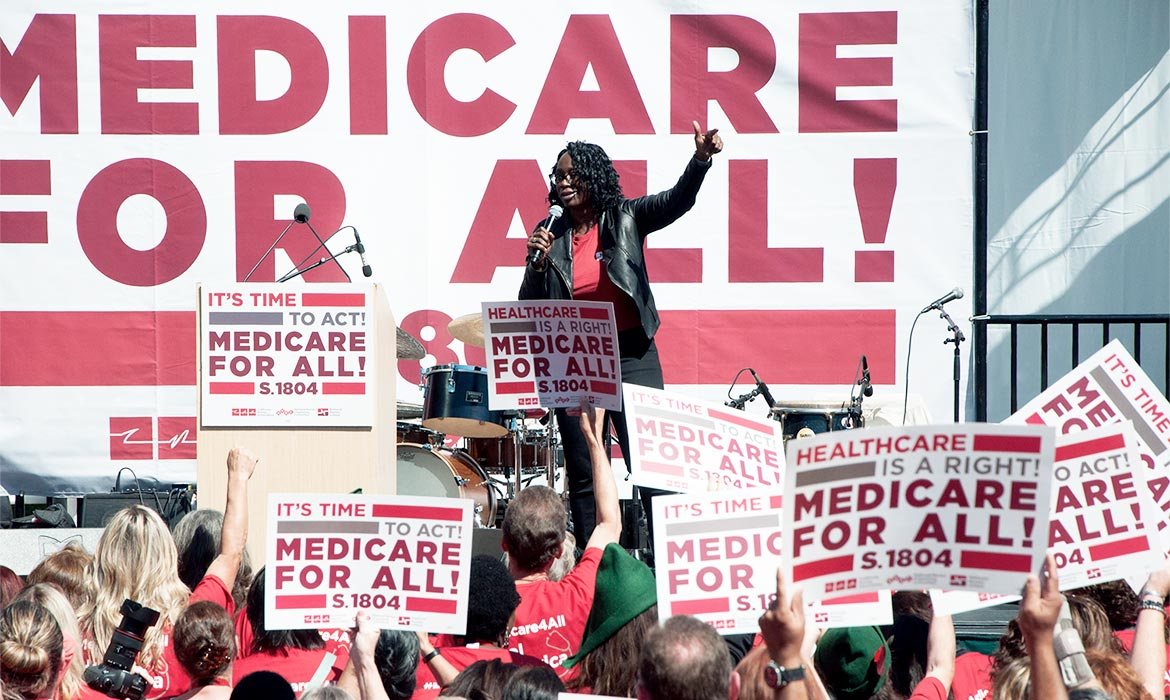 Roadmap For Democratic Victory In >> Path To Winning Is With People Power Medicare For All Leaders