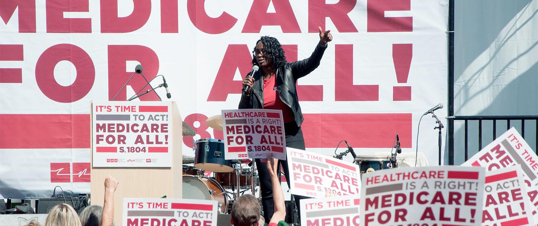Nina Turner, Former Ohio State Senator and President of Our Revolution