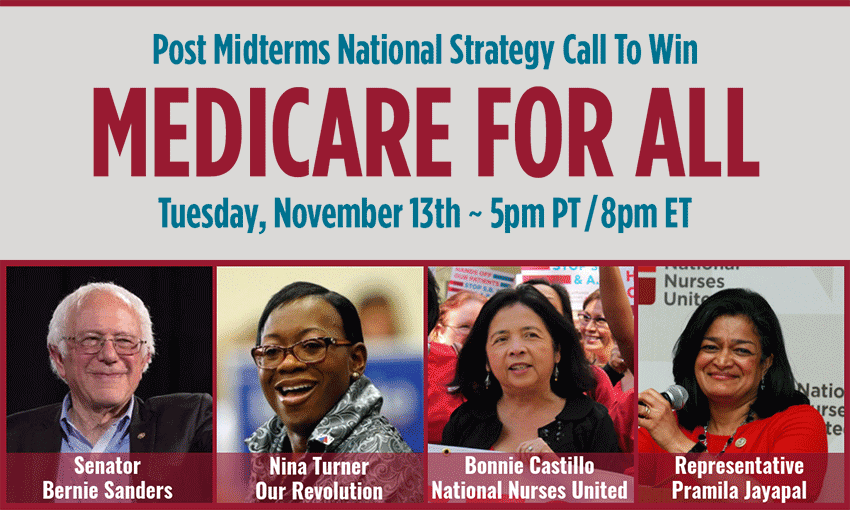 Strategy Call to Win Medicare For All